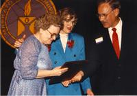 Mankato State University Retirement Banquet in the Centennial Student Union Ballroom, 06-01-1989.
